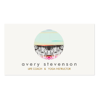 Holistic Health and Healing Arts Sunrise Logo Business Cards
