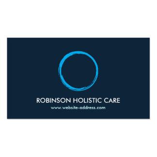 Holistic, Naturopath, Healer, Zen Logo II Double-Sided Standard Business Cards (Pack Of 100)