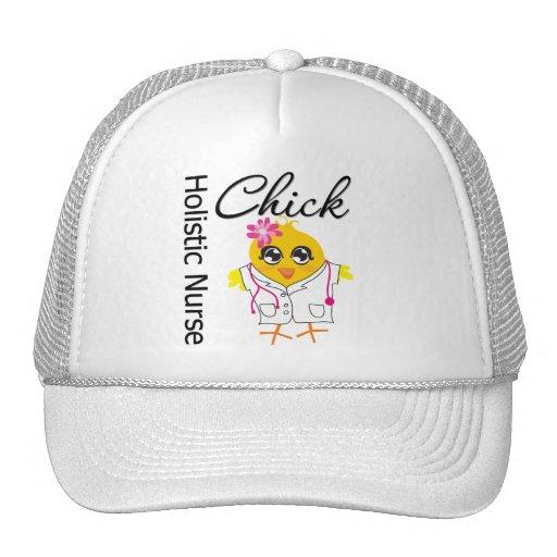 Holistic Nurse Chick v2 Trucker Hat