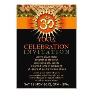Holistic Spiritual Yoga Workshop Event Flyer Card