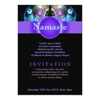 Holistic Spiritual Yoga Workshop Event Flyer Invit Card