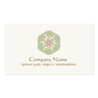 Holistic Symbol Healing  Arts Business Card Pack Of Standard Business Cards