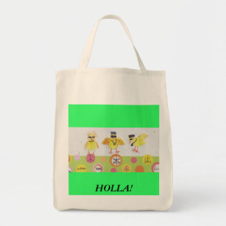 HOLLA AT MY PEEPS! TOTE BAG