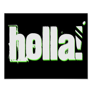Holla! Poster