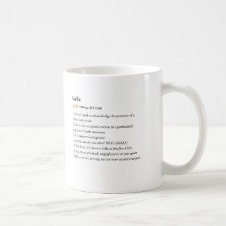 holla - Urban Dictionary mug