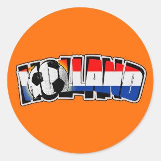 Holland 2010 round sticker