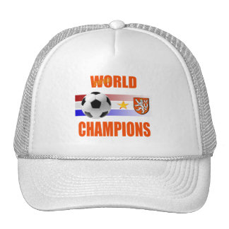 Holland 2010 World Champions Trucker Hats