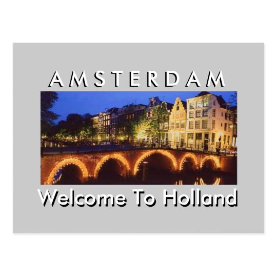HOLLAND 2 ( Oluwatosin Gbadamosi Design ) Postcard
