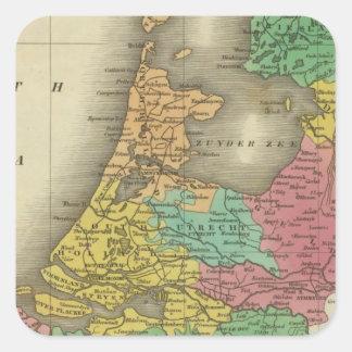 Holland 2 square sticker