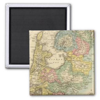 Holland 4 2 inch square magnet