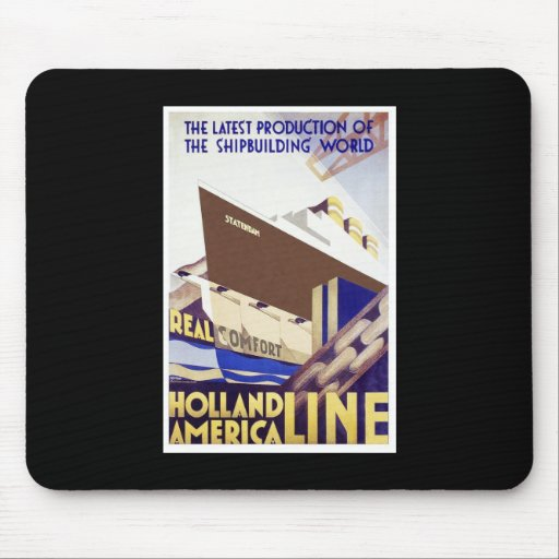 Holland America Line Mouse Pad