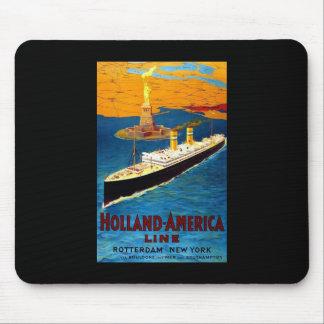 Holland America Line Rotterdam New York Mouse Pad
