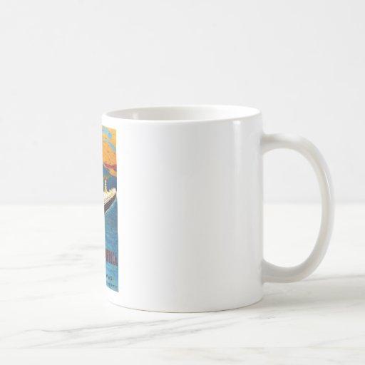 Holland America Line Rotterdam New York Classic White Coffee Mug