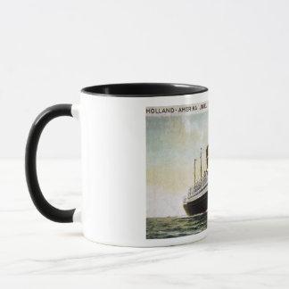 Holland-Amerika Line - Rotterdam - New York Mug