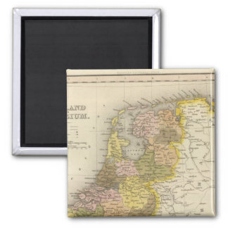 Holland And Belgium 2 2 Inch Square Magnet