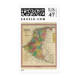 Holland And Belgium Postage
