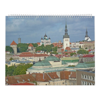 Holland, Belgium,Finland, Estonia, Russia Calendar