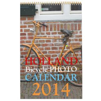 Holland Bicycle Calendar 2014
