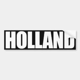 Holland Bumper Sticker