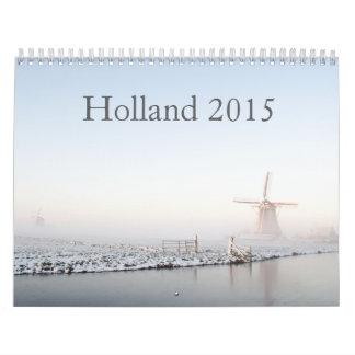 Holland calendar 2015