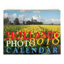 Holland Calendar 2018