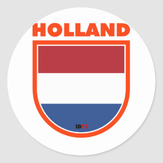 Holland Classic Round Sticker