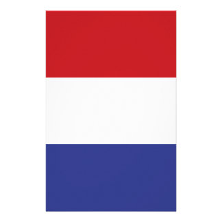 Holland flag stationery