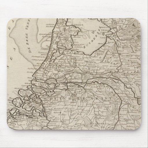 Holland, Friesland, Groningen, Overyssel Mouse Pad