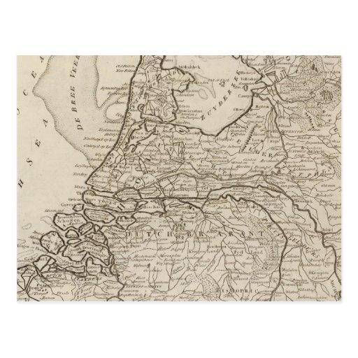 Holland, Friesland, Groningen, Overyssel Postcard
