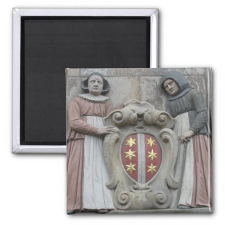Holland Gable Stone Magnet
