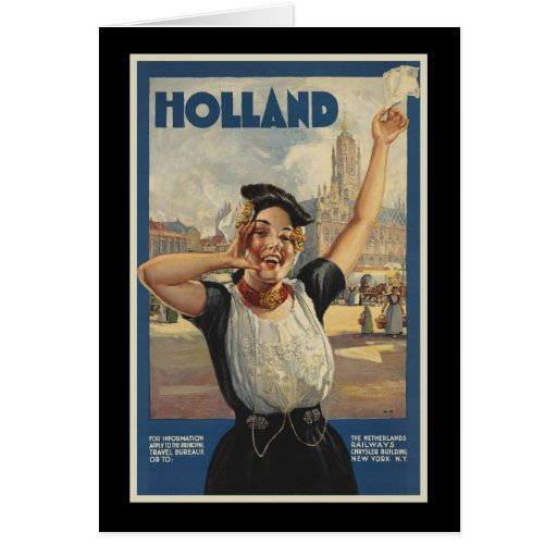 Holland Greeting Card