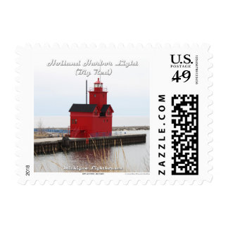 Holland Harbor Light (Big Red): 1st Class Postage