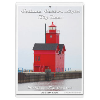 Holland Harbor Light (Big Red) - Clipboard