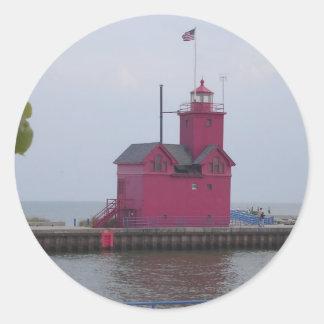 Holland Harbor Light, MI stickers