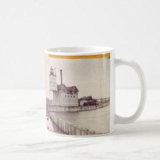 Holland Harbor Lighthouse 2 Classic White Coffee Mug