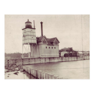Holland Harbor Lighthouse 2 Post Card