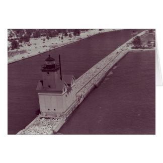 Holland Harbor Lighthouse Greeting Card