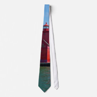 Holland Harbor Lighthouse Tie