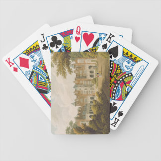 Holland House, the seat of the Right Honourable Lo Bicycle Playing Cards