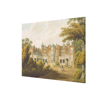 Holland House, the seat of the Right Honourable Lo Canvas Print