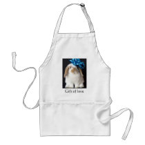 Holland Lop gift of love apron
