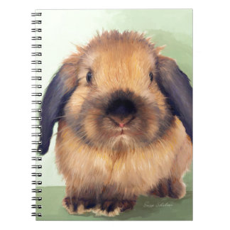 Holland Lop Notebook