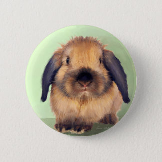 Holland Lop Pinback Button