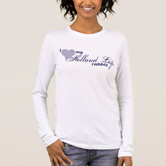 Holland Lop rabbit Long Sleeve T-Shirt