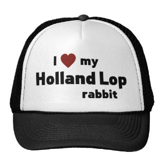 Holland Lop rabbit Trucker Hat