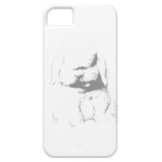 Holland Lop Shadow iPhone 5 Cases