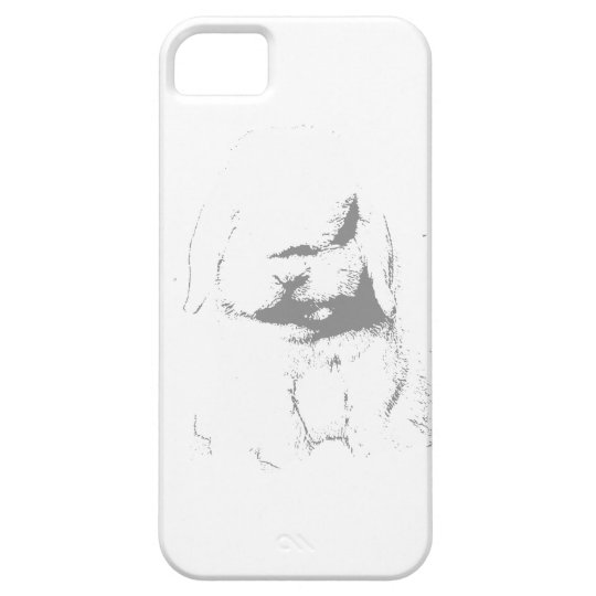 Holland Lop Shadow iPhone SE/5/5s Case