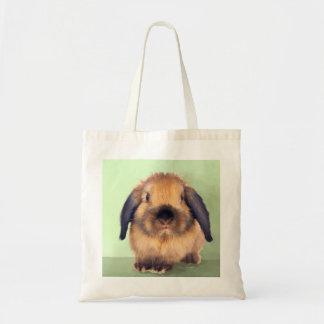 Holland Lop Tote Bag