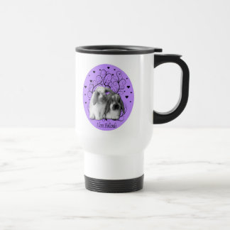 Holland Lop Travel Mug - Purple