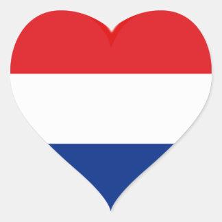 Holland Love Heart Sticker